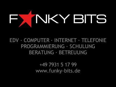 Heilbronn / Weinsberg - Webdesign EDV Computer Software Hardware Beratung Programmierung Alternativen Homepage WebSite Funky Bits